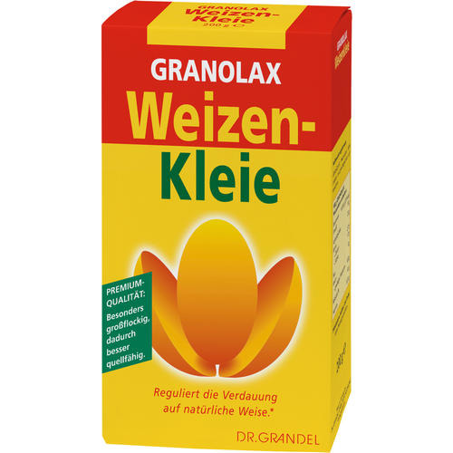 Wheat Germs & Dietary Fibre Dr. Grandel Granolax Weizenkleie 200 g A natural way to regulate digestion*