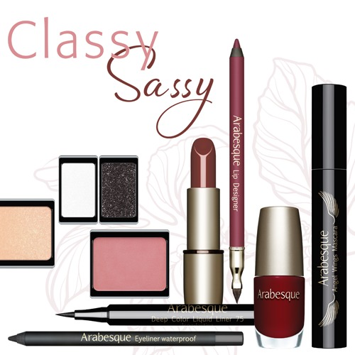Arabesque Abend Make-up kalt Herbst & Winter Classy Sassy kaltes Abend-Make-up