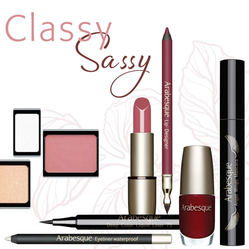 Arabesque Tages Make-up kalt Herbst & Winter Classy Sassy kaltes Tages-Make-up