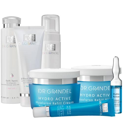 Dr. Grandel Pflegeroutine für trockene Haut im Gesicht Hautpflege Routine bei trockener Gesichtshaut