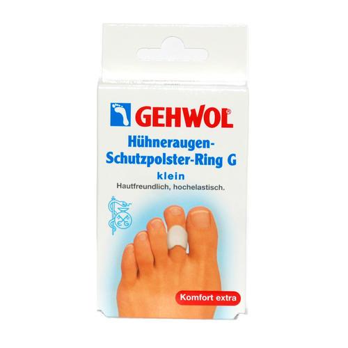 Pflaster & Druckschutz GEHWOL   Hühneraugen-Schutzpolster-Ring G - klein Hautfreundlich, hochelastisch
