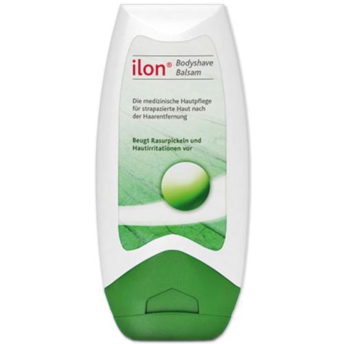 Medizinische Hautpflege ilon® Bodyshave Balsam beugt Rasurpickeln und Hautirritationen vor
