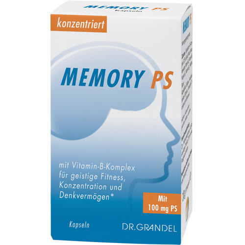 Memory & Concentration DR. GRANDEL MEMORY PS Kapseln With B Complex Vitamins