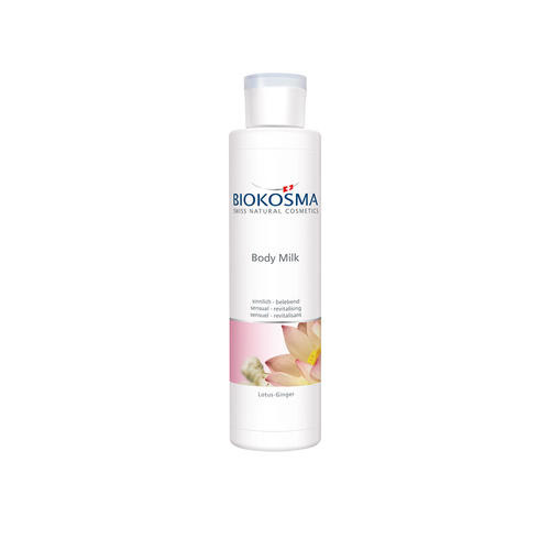 Douche & Body Biokosma Body Milk Lotus-Ginger sinnlich & belebend