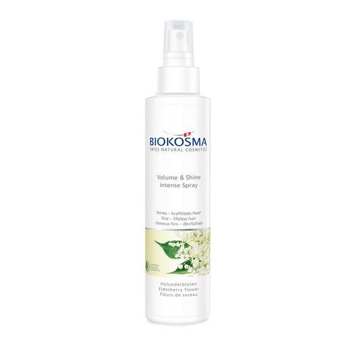 Haarpflege BIOKOSMA Intense Spray Volume & Shine Holunderblüte feines - kraftloses Haar
