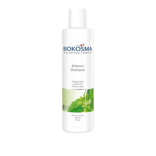Haarpflege Biokosma Shampoo Balance Brennessel fettiges Haar