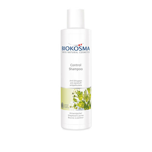 Haarpflege Biokosma Shampoo Control Hirtentäschel schuppiges Haar