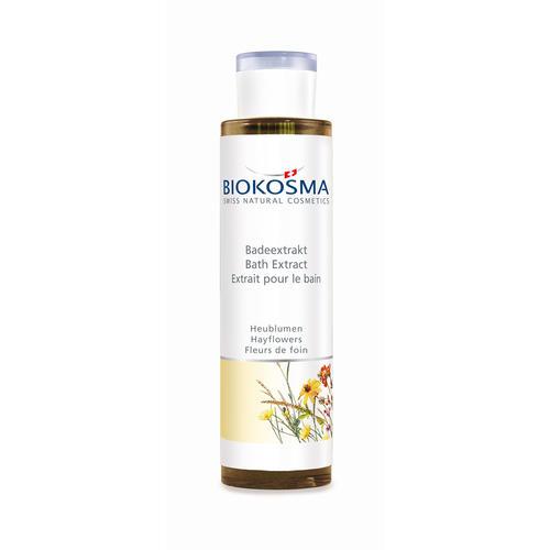 Wirkstoffbäder Biokosma Badeextrakt Heublumen vitalisierend & stimulierend