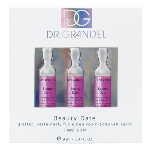 Ampoules Dr. Grandel Beauty Date 3 x 3 ml Smooths and refines