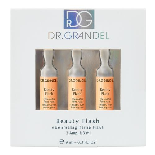 Ampoules Dr. Grandel Beauty Flash 3 x 3 ml Smoothing, balancing, refining ampoule