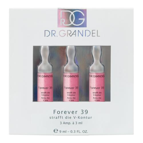 Active Concentrate Ampoules DR. GRANDEL Forever 39 for a youthful, firmed facial contour