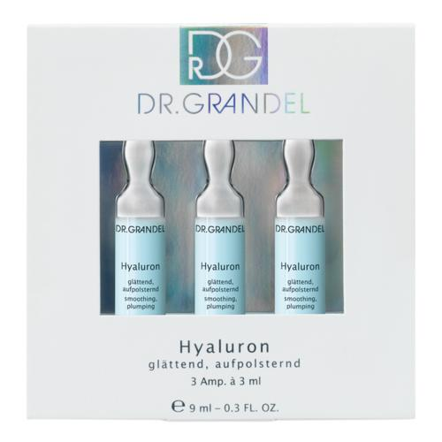 Ampoules Dr. Grandel Hyaluron 3 x 3 ml Moisturizing, smoothing, plumping ampoule
