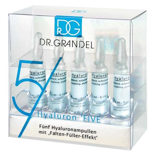 Professional Collection Dr. Grandel Hyaluron Ampulle 5five Fünf Hyaluron Ampullen in der Ampullen Box