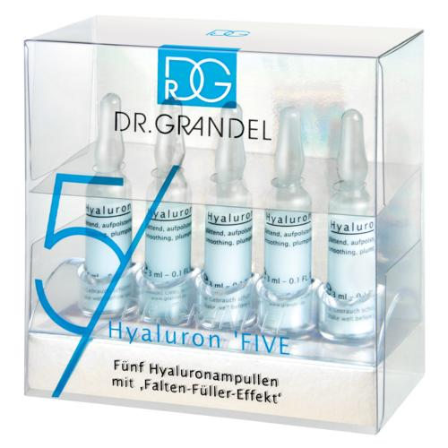 Active Concentrate Ampoules DR. GRANDEL Hyaluron 5FIVE Smoothing, moisturizing, plumping ampoule