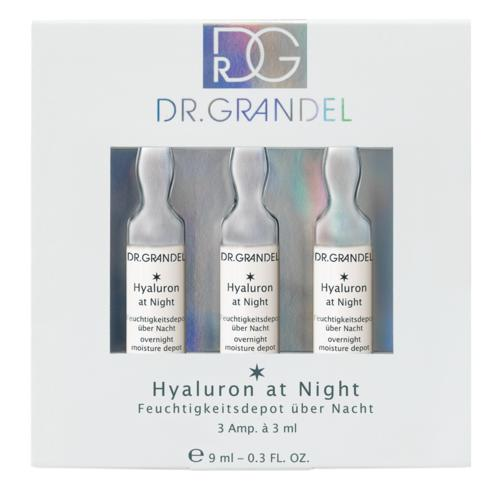 Ampoules Dr. Grandel Hyaluron at Night 3 x 3 ml Overnight moisture depot