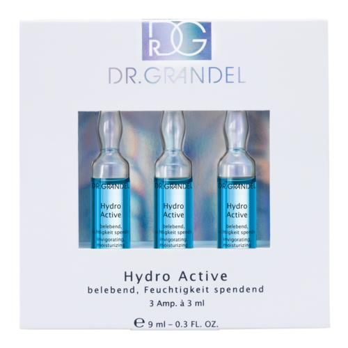 Ampoules Dr. Grandel Hydro Active 3 x 3 ml Moisturizing, smoothing, refreshing ampoule