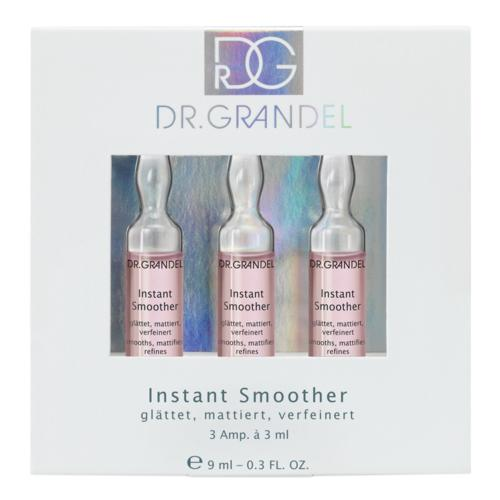 Ampoules Dr. Grandel Instant Smoother 3 x 3 ml for a smooth, even, matted-looking skin