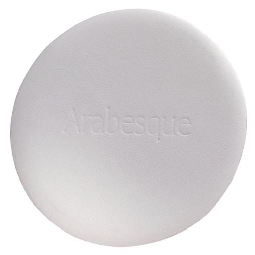 Professional accessories Arabesque Powder sponge round   For application of make-up and powder