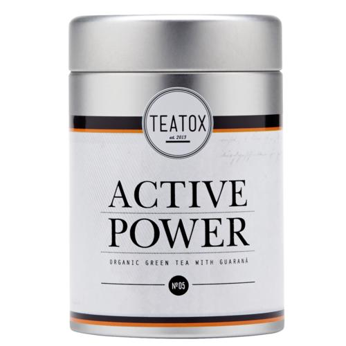Tees Teatox Active Power Active Power Bio Grüner Tee mit Guaraná