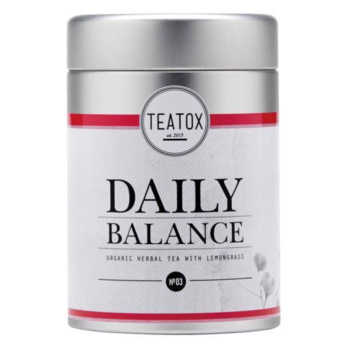 Tees Teatox Daily Balance Daily Balance Bio Kräutertee mit Zitronengras