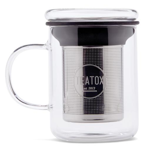 Tees & Zubehör TEATOX Glass Tea Mug Glass Tea Mug mit Teesieb
