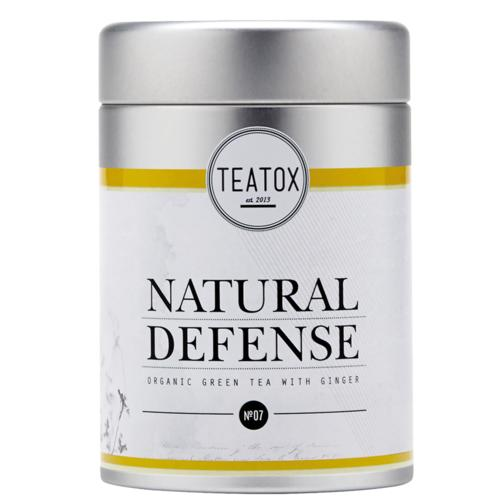 Tees Teatox Natural Defense Natural Defense Bio Grüner Tee mit Ingwer