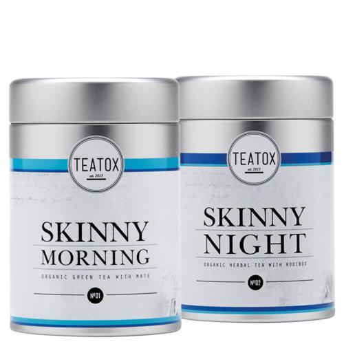 Tees Teatox Skinny Teatox - 14 Tage Programm Zwei Bio-Teemischungen für morgens und abends