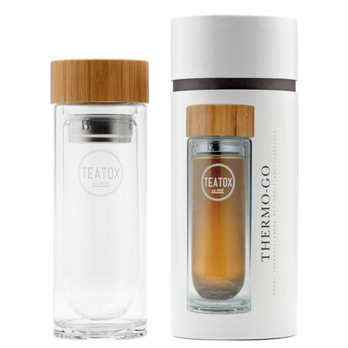 Zubehör TEATOX Thermo-Go Bottle Ihr stylischer Begleiter für stilvollen Tee to Go