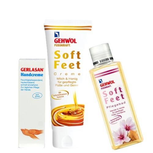 Aktion GEHWOL Soft Feet Pflege-Geschenkset Fußpflege Duo für seidenglatte Füße und Beine