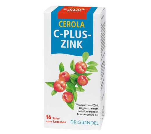 dr grandel cerola c plus zink taler vitamin c und zink. Black Bedroom Furniture Sets. Home Design Ideas