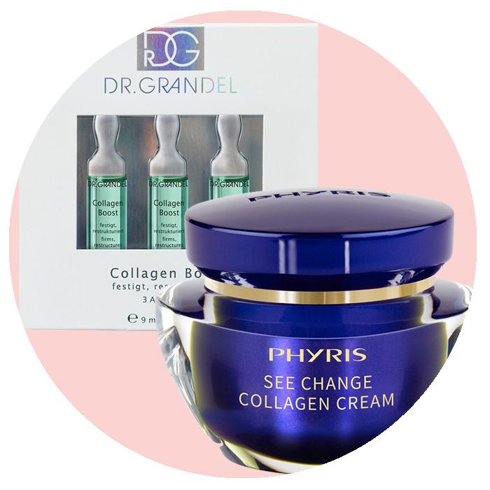 Kollagen für schöne Haut – Kosmetik Produkte