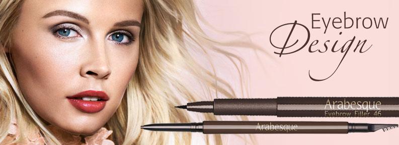 ARABESQUE Eyebrow Design - zwei Augenbrauenstifte für Wow-Brows