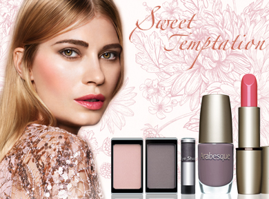 ARABESQUE trend-make-up autumn/winter 2016: Sweet Temptation