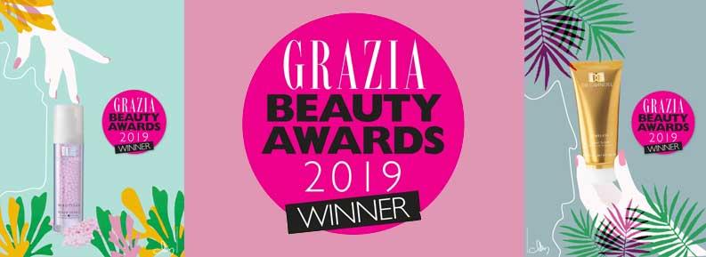 Zwei Grazia Beauty Awards in Slowenien für DR. GRANDEL